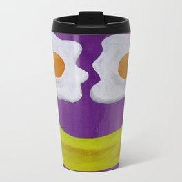Sunny-Side Up Metal Travel Mug