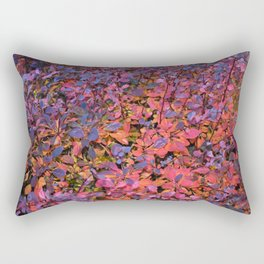 Colorful Fall Leaves Rectangular Pillow