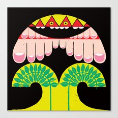 I can climb a tree Canvas Print