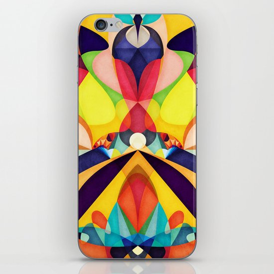 Poetry Geometry iPhone & iPod Skin