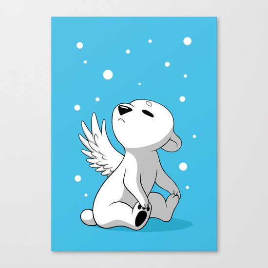 Polar Cub 2 Canvas Print