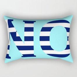 N O Rectangular Pillow