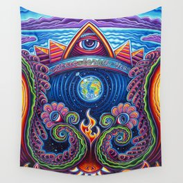 Peace Be With You Wall Tapestry