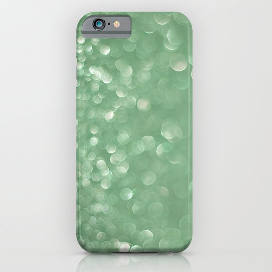 Seafoam bokeh iPhone & iPod Case