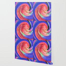 Flower Swirl Wallpaper