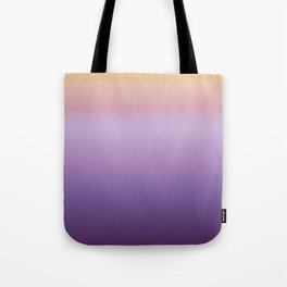 Mindfulness - purple and orange Tote Bag