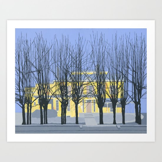 The Cumberland House Art Print