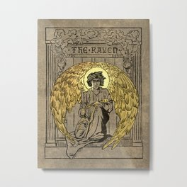 The Raven. 1884 edition cover Metal Print