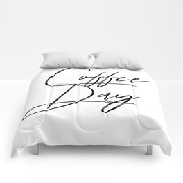 Coffee Day Comforters