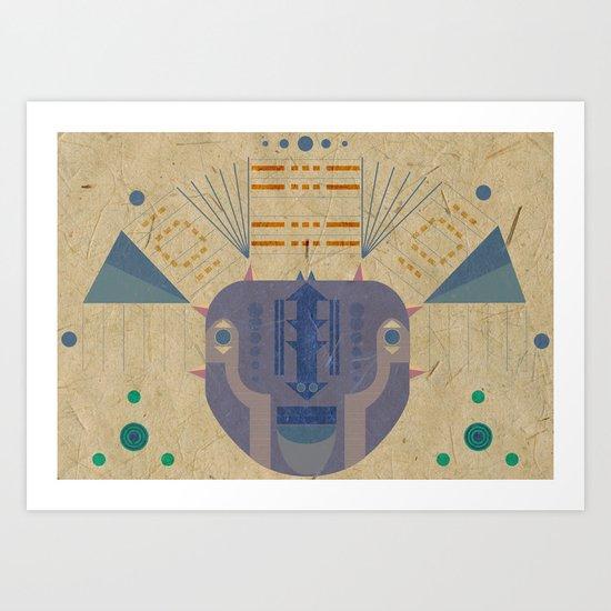 descendants Art Print
