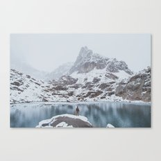 Jayme at Appleby Dome Canvas Print