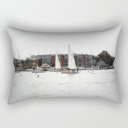 The Harbor, Annapolis - View II Rectangular Pillow