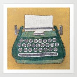 Typewriter 2 Art Print