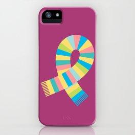 #13 Scarf iPhone Case