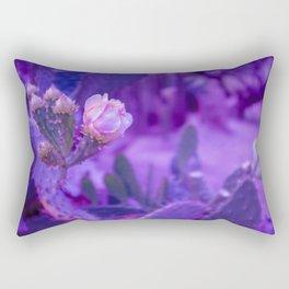 Psychedelic Cacti Rectangular Pillow
