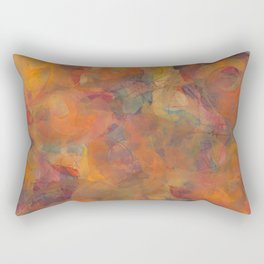 Svadhisthana Mandala (Sacral Chakra, 2nd Chakra) Rectangular Pillow