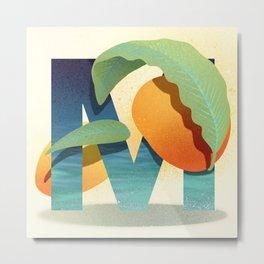 Mango Metal Print