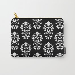 Heart Damask Pattern (B) WB Carry-All Pouch