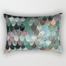 SUMMER MERMAID SEAWEED MIX by Monika Strigel Rectangular Pillow
