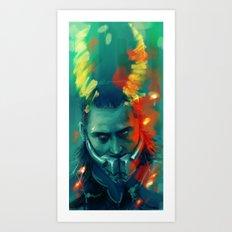 Loki Art Print