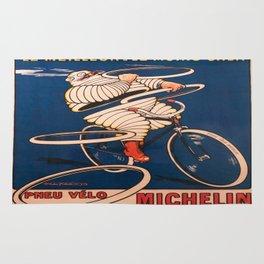 Vintage poster - Tire Advertisement Rug