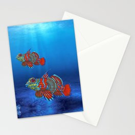 Mandy, the Mandarin Fish Stationery Cards