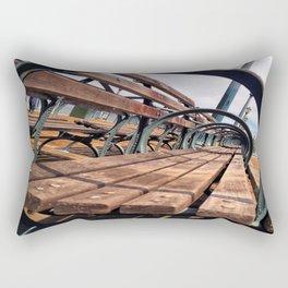 Circle Perspective Rectangular Pillow