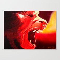 An Italian Werewolf In London Canvas Print