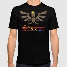 Bioshock Infinite: Song of the Songbird Black Mens Fitted Tee MEDIUM