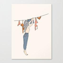 Girl Next Door Canvas Print