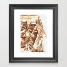 Silent Hill b Framed Art Print