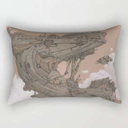Aerial Station One Rectangular Pillow