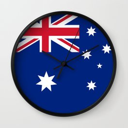 Flag of Australia - Authentic High Quality image Wall Clock