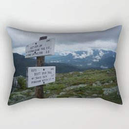 The Bootts Spur Trail Rectangular Pillow