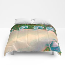 Kalanchoe Abstract Comforters