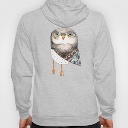 Owl by Ashley Percival Hoody
