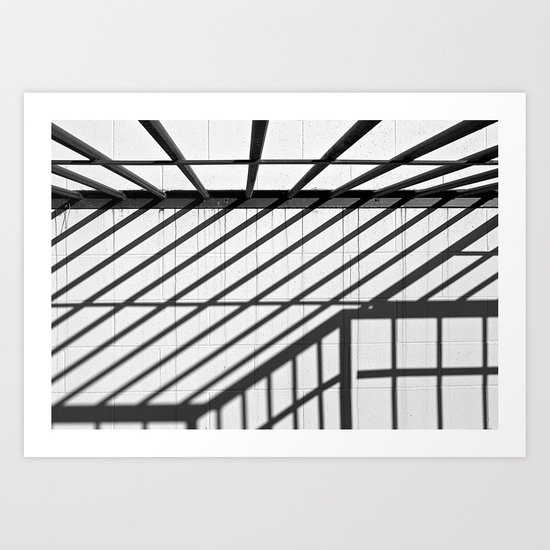 Line Directions Art Print