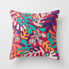 Matisse Pattern 009 Throw Pillow