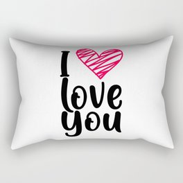I love you 1 Rectangular Pillow