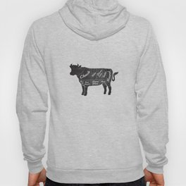 Beef Butcher Diagram Hoody