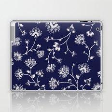 Indigo Floral Trail Laptop & iPad Skin