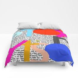 Stay Nasty Comforters