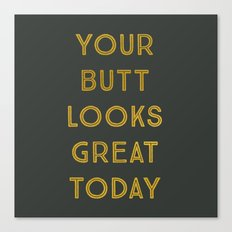 Great Today Canvas Print