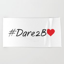 #Dare2BLove Beach Towel