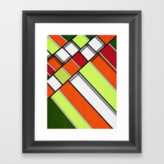 Lined II Framed Art Print