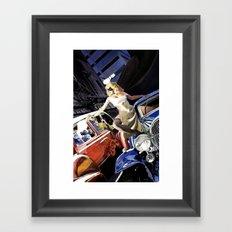 Domino Lady # 5 Framed Art Print