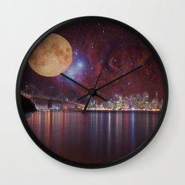 Strange Skys Wall Clock