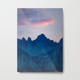 Mt. Whitney Metal Print