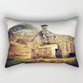 Bothy in the Highlands Rectangular Pillow