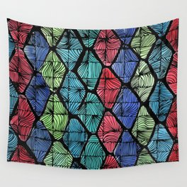 AFRICAN PATTERN Wall Tapestry